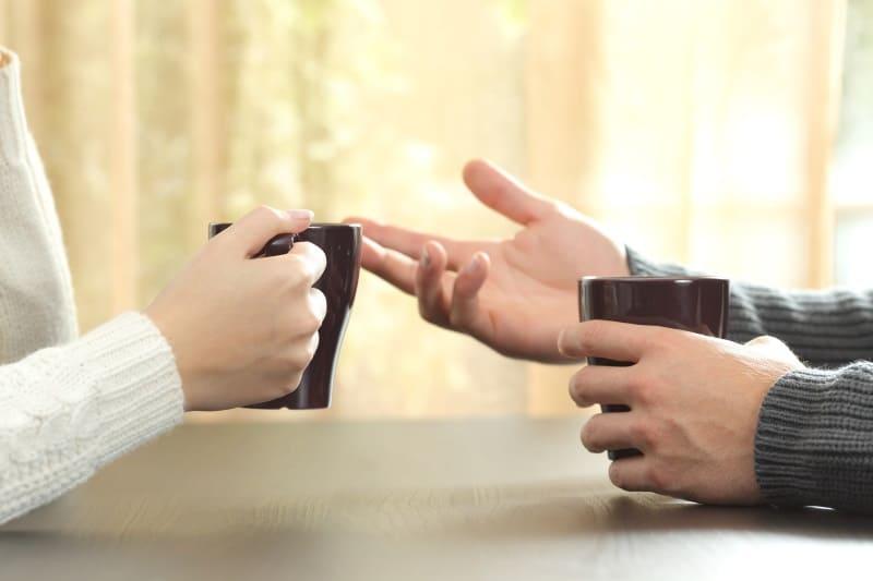 Kommunikation in der Beziehung ist wichtig