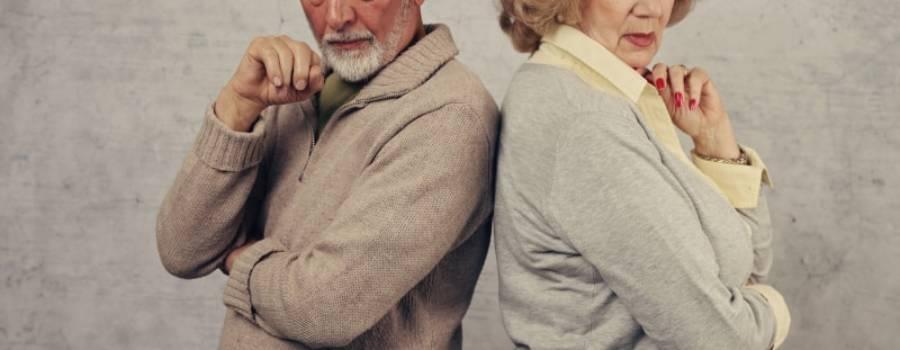 Ernsthafte Beziehungsprobleme sind im Alter keine Seltenheit mehr
