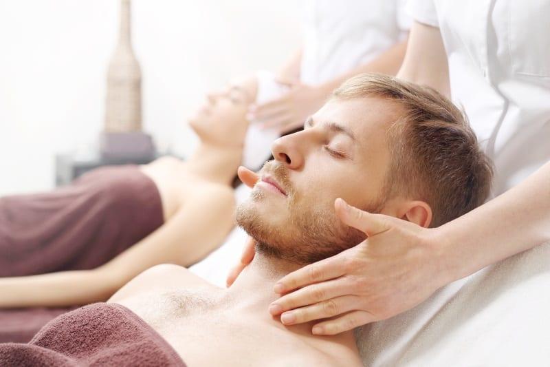 Massage zu zweit