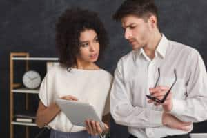 Beziehung am Arbeitsplatz